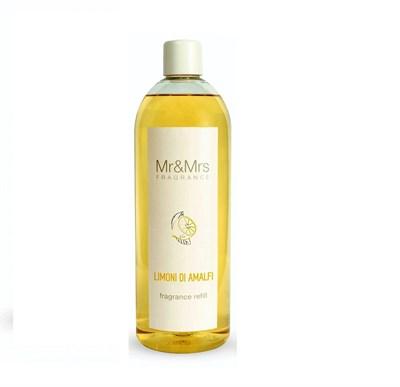 Рефилл Mr&Mrs Fragrance Limoni Di Amalfi 1000 ml. Made in Italy. - фото 6376